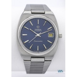 OMEGA (Seamaster Sport / Automatic Electric Blue - Date / ref. 166.0206), vers 1972