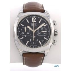 HEUER (Chronographe Pilote réédition Monza - Black / ref. CR2110.FC6162), vers 2002