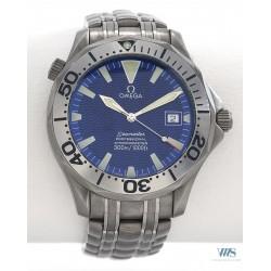 """OMEGA (Seamaster Professional Diver 300M """"Blue Titanium"""" / ref. 2231.80.00), vers 1999"""
