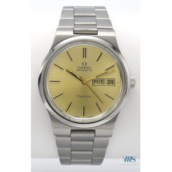 OMEGA (Genève Sport Automatic Champagne - Day Date / ref. 166.0174), vers 1975