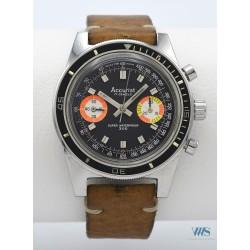 ACCURIST (Chronographe Marine - Super Waterproof 300 / dotation ), vers 1978