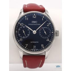 IWC (Portugaise 7 Days / black / ref. IW500109), vers 2007