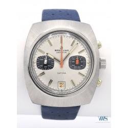 BREITLING (Chronographe Pilote Datora - Tonneau Silver / ref. 34), vers 1973