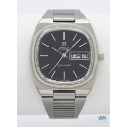 """OMEGA (Seamaster Sport """"TV"""" / Automatic Blue - Day Date / ref. 166.0213 / 366.0845), vers 1974"""