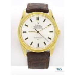 OMEGA (Constellation Chronomètre Official / Lunette cannelée - Or jaune / ref. 167.021), vers 1966