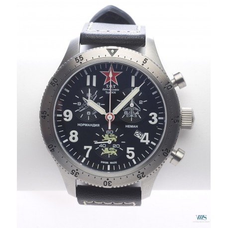 T.O.T (Chronographe Pilote / Type NN - N° 53 /200 pièces), Projet 2009