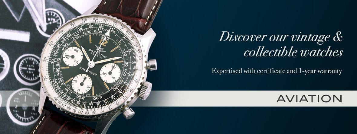 Our watches and accessories : aviation