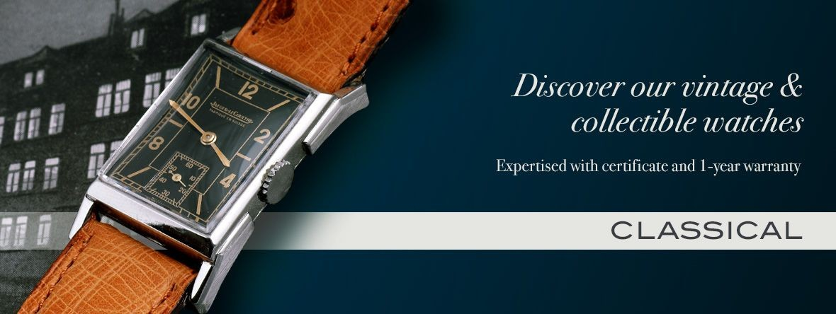 Our watches and accessories : classical