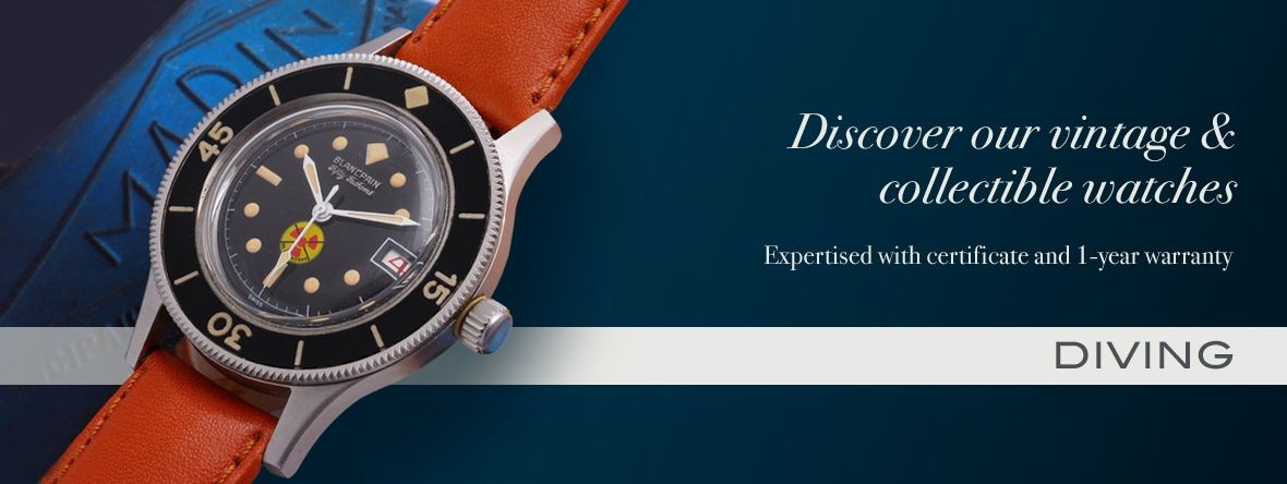 Our watches and accessories : diving